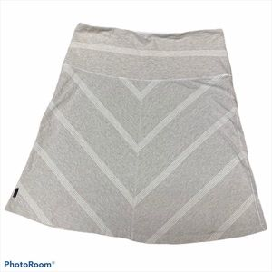Lole organic cotton soft a line athletic skirt Med